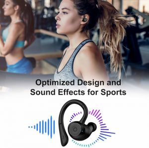 holyhigh auriculares bluetooth 5.0 ipx7
